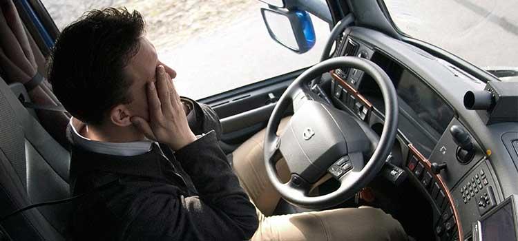 disminuir el estrés en los conductores de transporte de mercancías