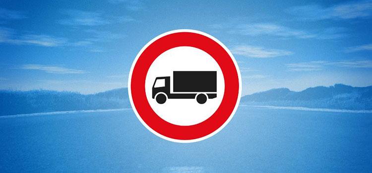 restricciones de circulación camiones