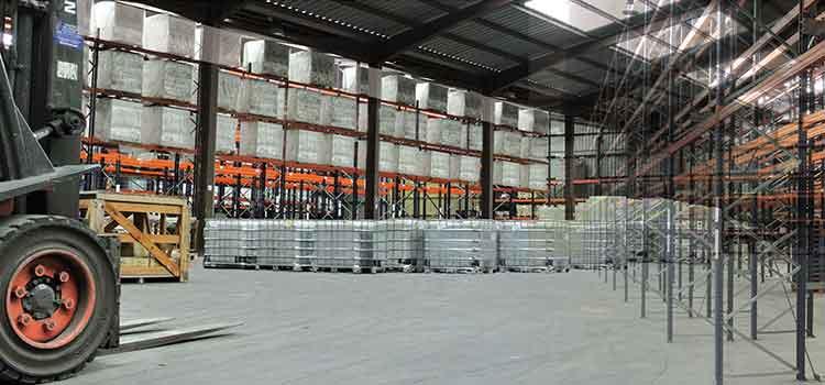 exceso de stock en el sector logístico
