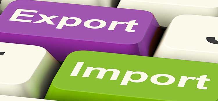 Recomendaciones para importar y exportar