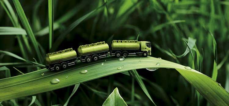 energías alternativas en el transporte internacional de mercancías