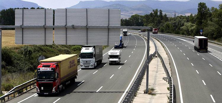 camiones de transporte de mercancías