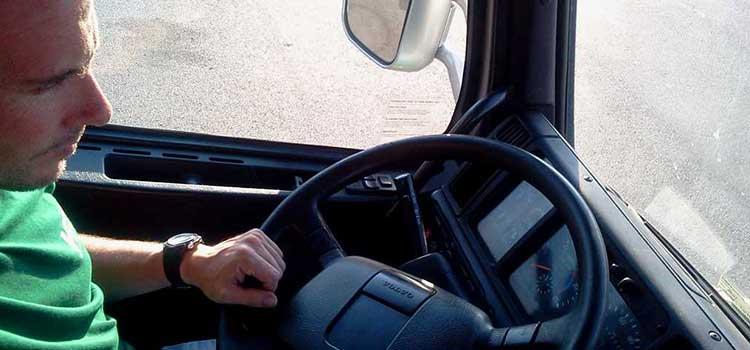 riesgos laborales de los conductores de camión