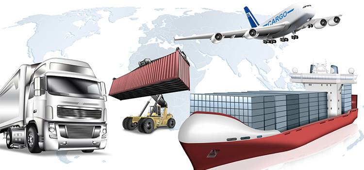 Transporte Terrestre Aéreo Y Marítimo Para Cada Tipo De Mercancía