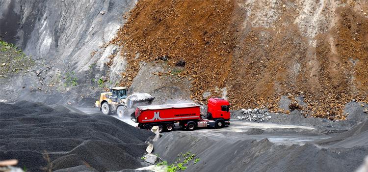 Camiones en minas