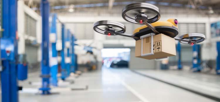robots sector logístico
